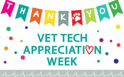 Vet Tech Appreciation Week